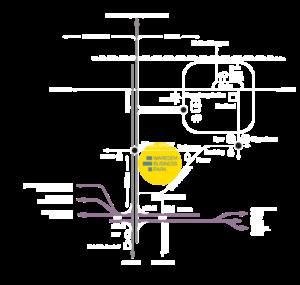 Kaart Waregem Business Park